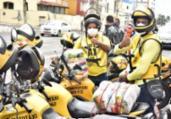 Distribuição de cestas para mototaxistas é iniciada | Divulgação | SECOM PMS