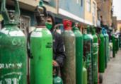 Peru importará oxigênio para pacientes com Covid-19   Ernesto Benavides   AFP