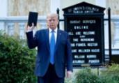 Trump é processado por ação policial | Brendan Smialowski | AFP