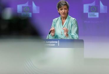 UE investiga Apple por práticas contrárias à concorrência | POOL | AFP | Arquivos | Olivier Matthys