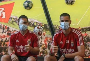 Jogadores do Benfica ficam feridos após ônibus ser apedrejado | Reprodução | Instagram