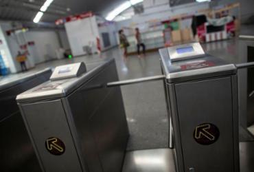 Cai número de passageiros no transporte por trilhos | Raphael Müller | Ag. A TARDE