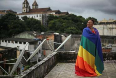 Keila Simpson, presidente da Associação Nacional de Travestis e Transexuais | Foto: Raphael Müller | Ag. A TARDE - Raphael Müller | Ag. A TARDE