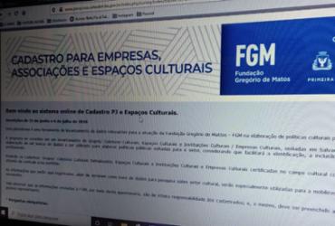 Plataforma realiza cadastro de pessoas jurídicas do campo cultural de Salvador |