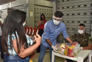 Mais de 22 mil cestas básicas estão sendo distribuídas | Max Haack | Secom