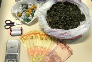Suspeito de homicídio e tráfico é preso em Feira de Santana