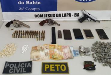 Grupo é flagrado com armas e drogas em Bom Jesus da Lapa; três morrem em confronto
