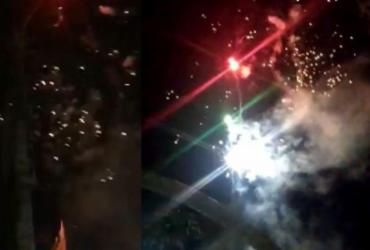 Prefeitura de Ipirá promove foguetório para inaugurar asfalto em plena pandemia