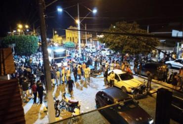 """Ato político provoca aglomeração em Itatim e prefeitura disse que o fato foi """"espontâneo"""""""