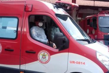 Bombeiros salvam recém-nascido engasgado em Jequié