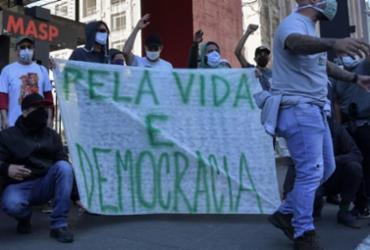 Duas manifestações pró-democracia estão marcadas para domingo em Salvador | afp