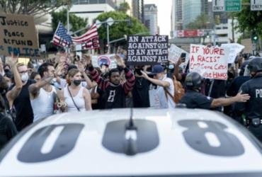 Detidos em LA por protestarem durante toque de recolher não serão processados | AFP | Arquivos | Kyle Grillot