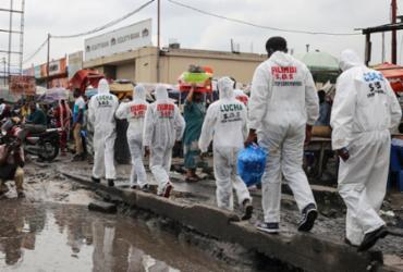 Ministro da Saúde anuncia nova epidemia de ebola na República Democrática do Congo | Samir Tounsi | AFP