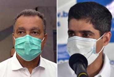 Rui e Neto perdem pontos, mas gestões continuam bem avaliadas | Elói Corrêa | GOVBA e Max Haack | Secom