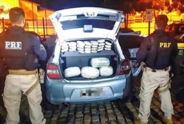 Casal é flagrado transportando mais de 35 kg de maconha em veículo na BR-116