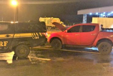 Homem é preso na Bahia com caminhonete de luxo roubada em Belo Horizonte