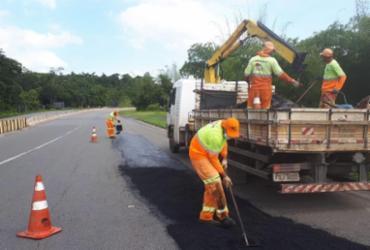 Sistema de Rodovias BA-093 recebe obras de manutenção e melhorias até domingo
