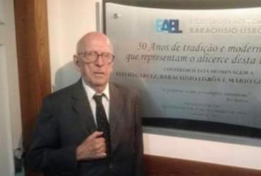 Advogado Sylvio Garcez morre em Salvador aos 92 anos de idade | Reprodução