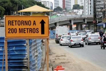 BRT: trânsito na avenida ACM sofre alterações a partir deste sábado | Adilton Venegeroles | Ag. A TARDE