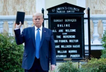 Trump é processado por ação policial próximo à Casa Branca | Brendan Smialowski | AFP
