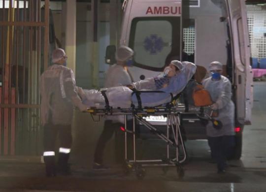 Brasil bate novo recorde de mortes em 24h e ultrapassa a Itália | Reprodução
