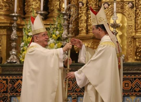 Cardeal Sérgio da Rocha toma posse como arcebispo | Uendel Galter | Ag. A Tarde