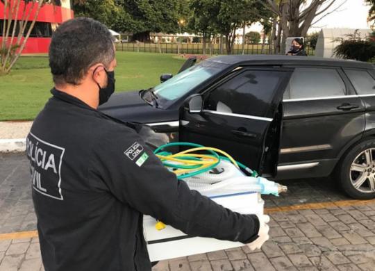 Empresários investigados por fraudes na venda de respiradores depõem em Salvador   Divulgação   Polícia Civil do DF