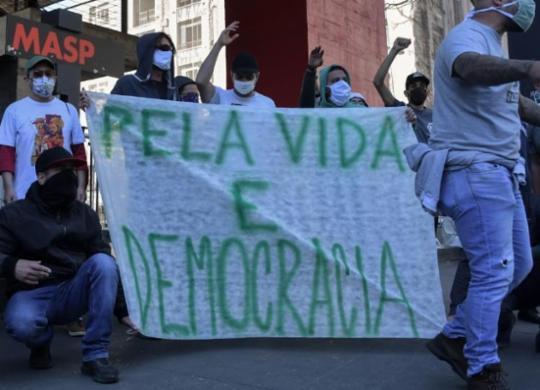 Duas manifestações pró-democracia estão marcadas para domingo em Salvador   afp