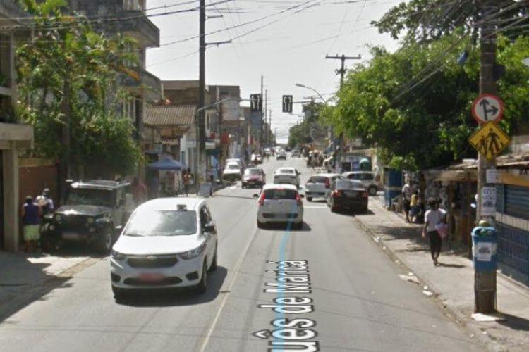 O acidente ocorreu na madrugada deste domingo, 14 | Foto: Reprodução | Google Street View - Foto: Reprodução | Google Street View
