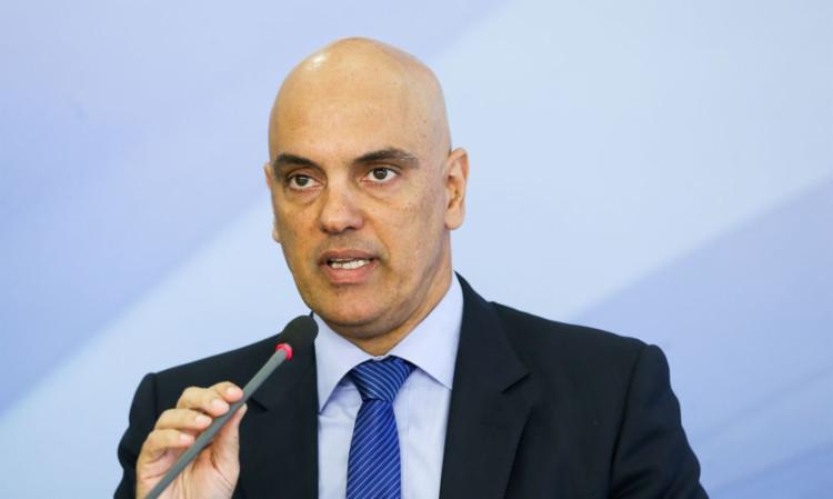Moraes é o relator no STF do inquérito que investiga a organização de atos antidemocrático - Foto: Divulgação