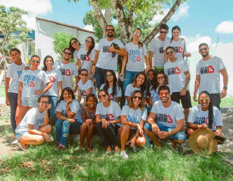 Instituto possui mais de 500 volutários para ajudar pessoas e situação de vulnerabilidade social | Foto: Divulgação | Liga do Bem - Foto: Divulgação | Liga do Bem