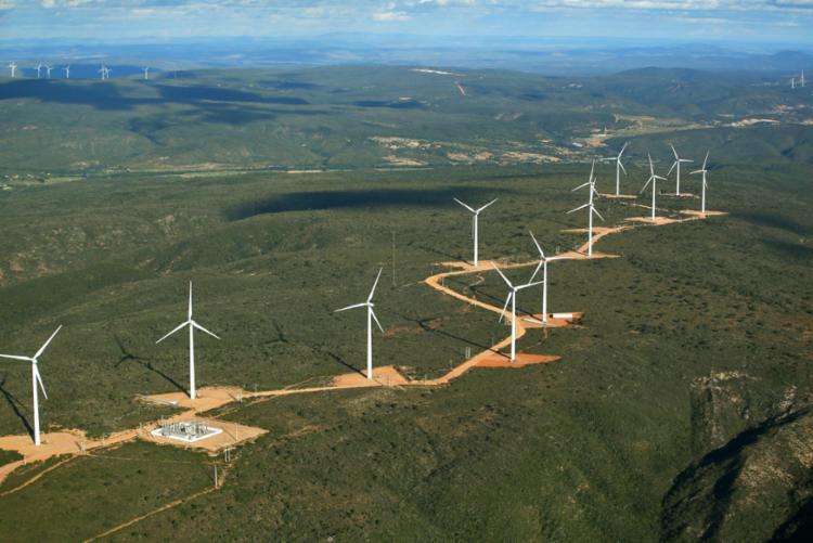 Serão instaladas 103 turbinas, com capacidade unitária de 5,5 MW | Foto: Paula Fróes | Gov-BA - Foto: Paula Fróes | Gov-BA