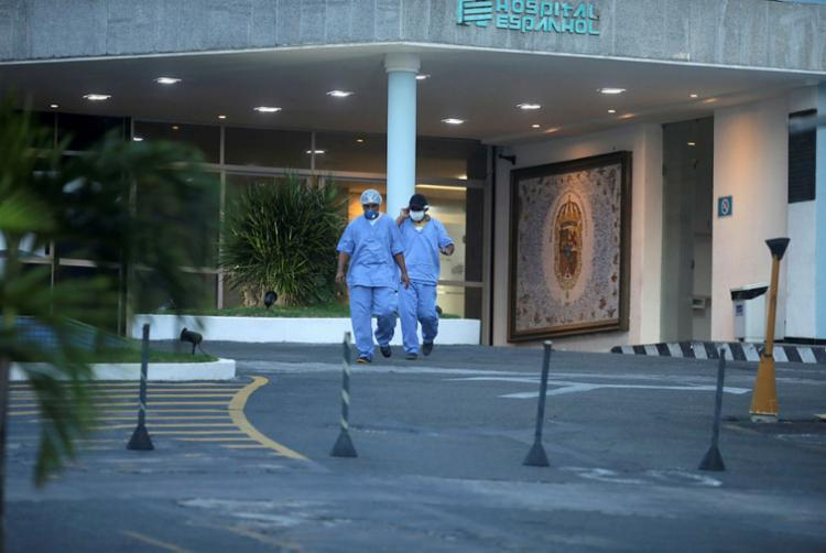 Hospital na Barra foi preparado pelo governo da Bahia para receber pacientes infectados pelo novo coronavírus | Foto: Felipe Iruatã | Ag. A TARDE - Foto: Felipe Iruatã | Ag. A TARDE
