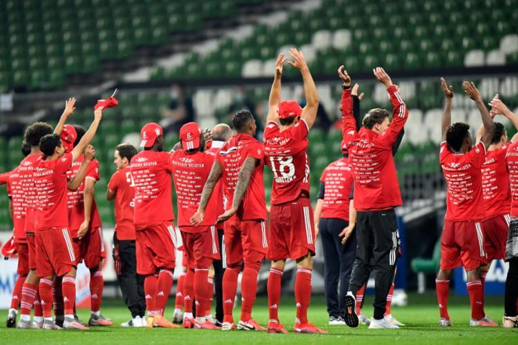 O clube bávaro chegou ao seu 30º título nacional   Foto: Martin Meissner   AFP - Foto: Martin Meissner   AFP