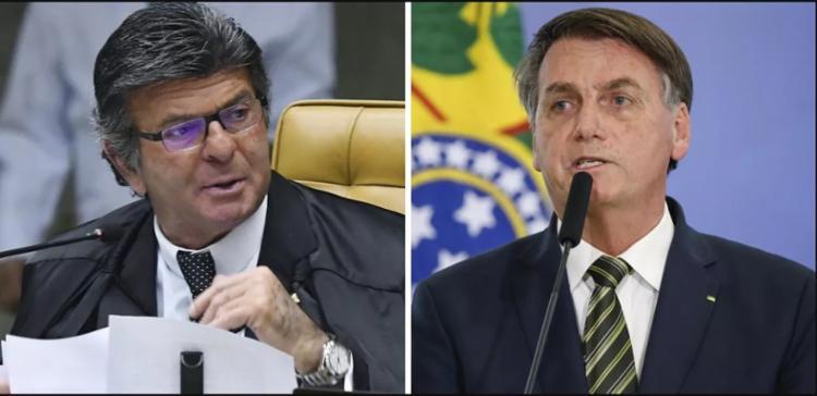 Bolsonaro tem diminuído a frequência dos seus ataques ao STF nos últimos dias   Fotos: Carlos Moura   STF e Alan Santos   PR - Foto: Carlos Moura   STF e Alan Santos   PR