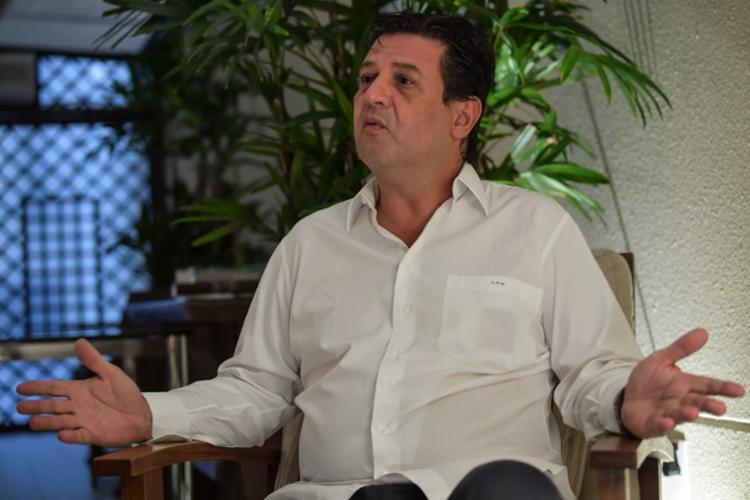 Ex-ministro da Saúde disse ainda que não descarta uma carreira na política | Foto: Nelson Almeida | AFP - Foto: Nelson Almeida | AFP