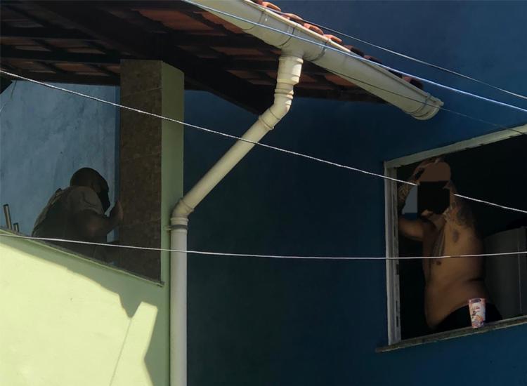 Polícias chegaram até a vítima após ligação via 190 - Foto: Divulgação | SSP