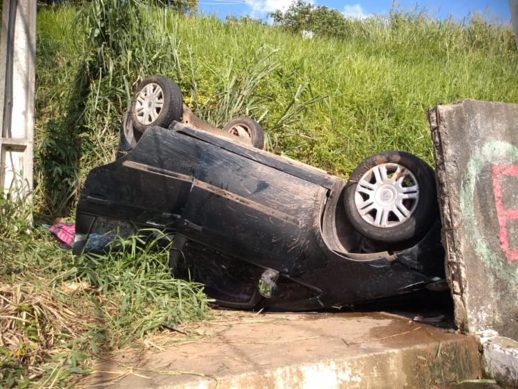 Condutor abandou veículo no local | Foto: Divulgação | Transalvador - Foto: Divulgação | Transalvador