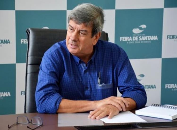 Prefeito de Feira de Santana, Colbert Martins lamenta morte de Almir Melo - Foto: Divulgação | PMFS