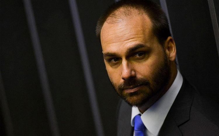Eduardo defendeu a entrega de cargos ao Centrão   Foto: AFP - Foto: AFP