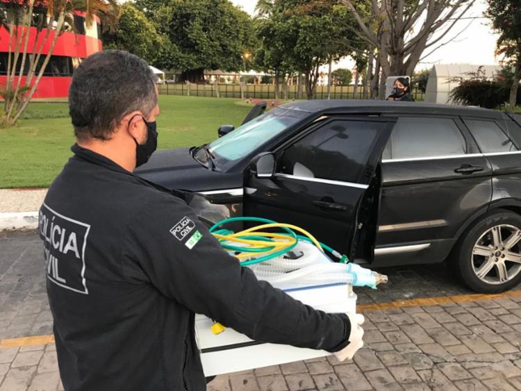 Policiais civil cumprem mandados de busca e apreensão no Distrito Federal - Foto: Divulgação | Polícia Civil do DF