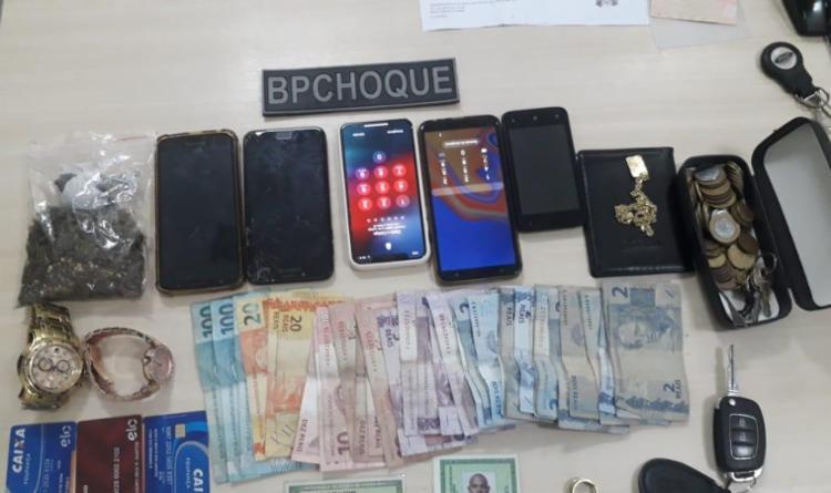 Dupla estaria envolvida com homicídios, tráfico e roubos a bancos   Foto: Divulgação   SSP-BA - Foto: Divulgação   SSP-BA