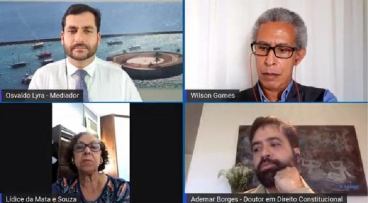 A Tarde conecta: Mesa Redonda online debate produção de fake news | Foto: Reprodução | YouTube - Foto: Reprodução | YouTube