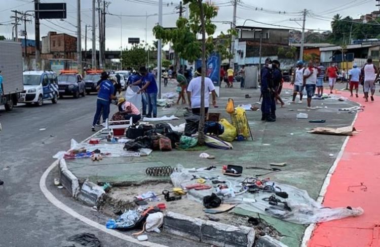Ocorrência foi registrada na manhã deste domingo | Foto: Divulgação | Secom - Foto: Divulgação | Secom