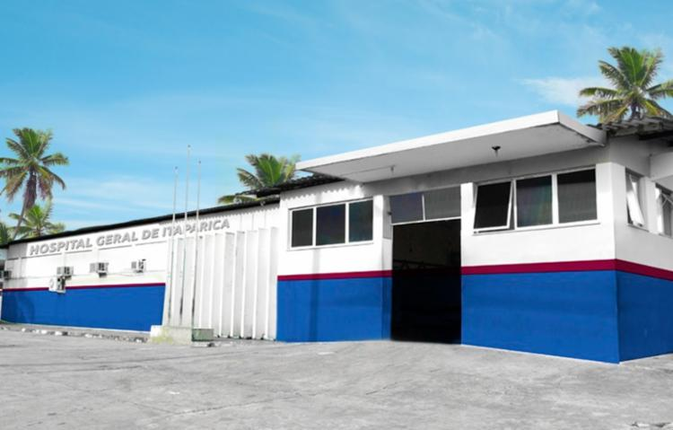 Hospital Geral de Itaparica segue sendo administrado pela Fundação José Silveira - Foto: Divulgação