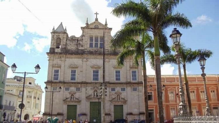 Missa na Catedral Basílica, no Terreiro de Jesus, será celebrada com número reduzido de fiéis | Foto: Reprodução - Foto: Reprodução