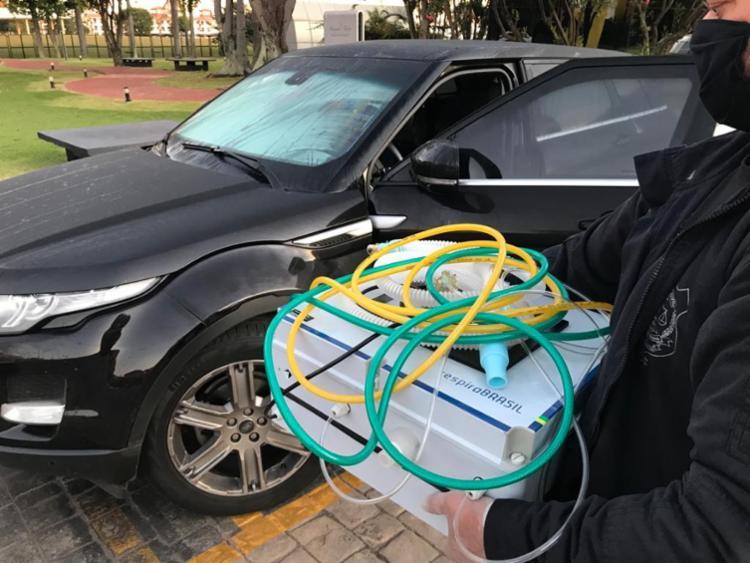 Respirador que empresa propôs vender ao Consórcio não seria autorizado pela Anvisa | Foto: Divulgação | Polícia Civil DF - Foto: Divulgação | Polícia Civil DF
