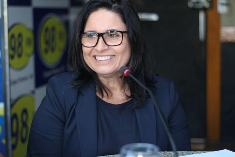 Prefeita de Campo Formoso, Rose Menezes, fala das medidas de combate ao coronavírus - Foto: Divulgação