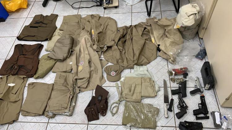 Suspeitos foram presos na manhã desta sexta-feira   Foto: Divulgação   SSP - Foto: Divulgação   SSP
