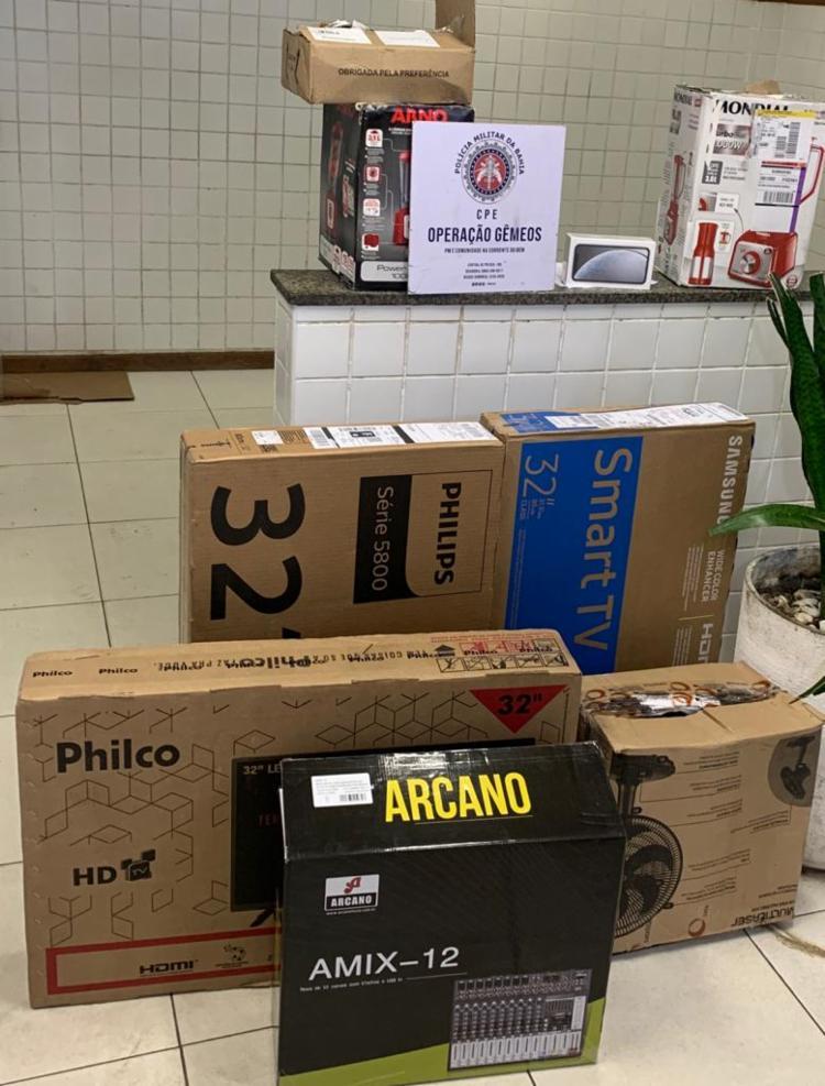 Produtos encontrados não tinham nota fiscal | Foto: Divulgação | SSP - Foto: Divulgação | SSP